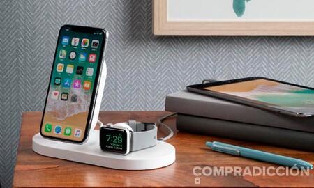 Vuelve el chollo. Cargar tu iPhone, tu Apple Watch y tus AirPods a la vez cuesta mucho menos con la base Belkin Boost Up: ahora en Amazon por 64,99 euros
