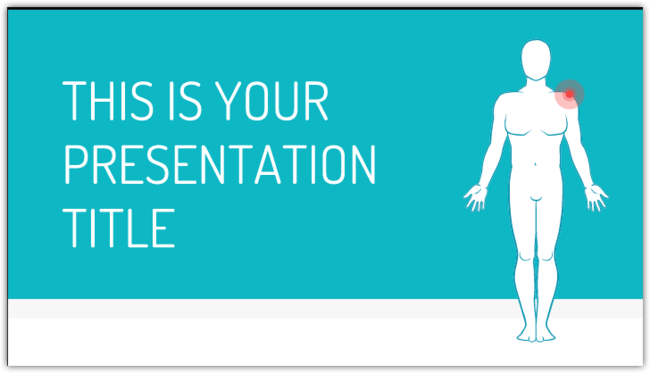 Free Presentation Template Medical Health Theme