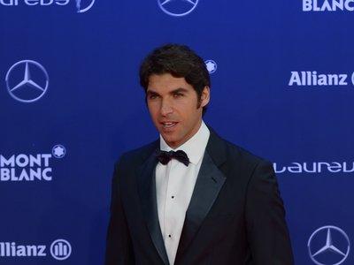 Así lucen smoking los deportistas y demás vips en los Premios Laureus
