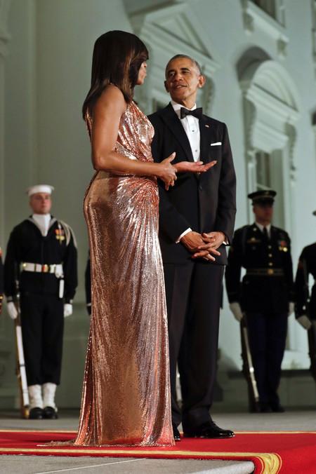 Michelle Obama Versace Casa Blanca 2016 3