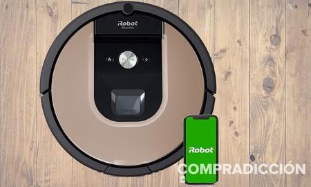 Este robot aspirador está más barato que nunca en la Semana de Internet de El Corte Inglés: Roomba 966 por 370 euros con un 36% de descuento