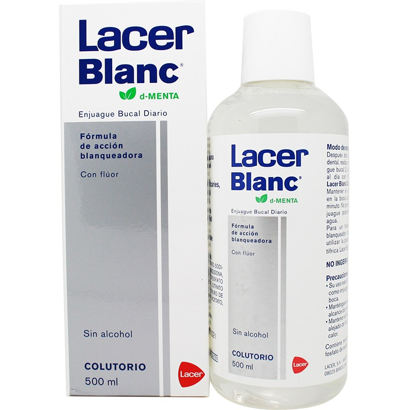 Colutorio Citrus 500 ml Lacer Blanc