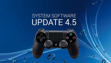La actualización 4.5 de PS4 llega mañana: Boost Mode y se acabó el problema del disco duro