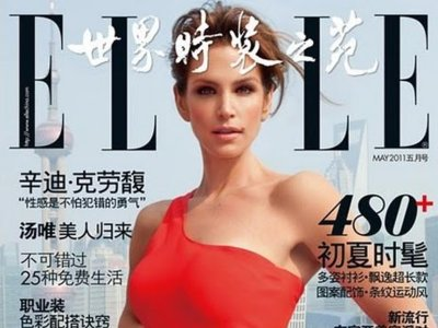¿Quién protagoniza la última portada de Elle China? Adivina, adivinanza....