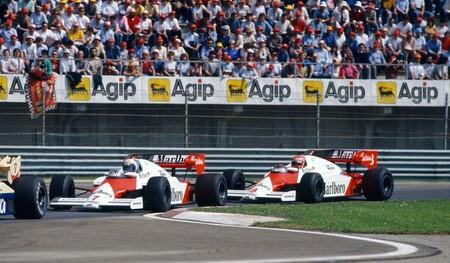 Prost Lauda F1 1984