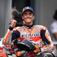 """Las lágrimas de Marc Márquez tras volver a ganar en MotoGP: """"Es uno de los momentos más importantes de mi carrera"""""""