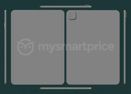 Se filtran los supuestos modelos CAD del iPad Pro de 2021 de la mano de MySmartPrice