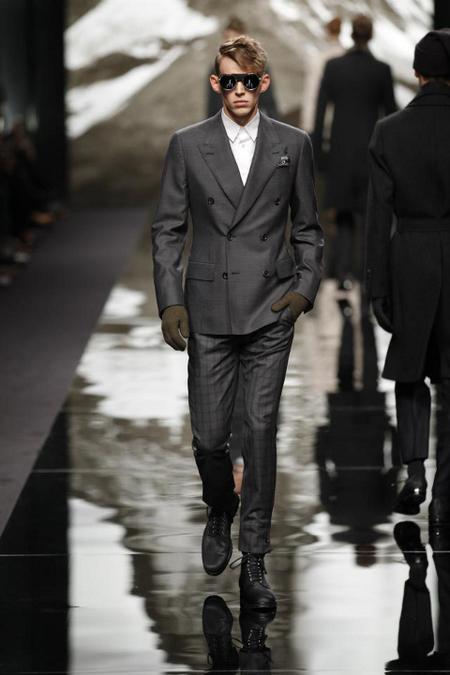Chaqueta doble botonadura Louis Vuitton