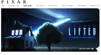 'Lifted', el nuevo corto de Pixar ya tiene webpage