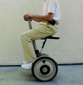 SegSeat, accesorio para poder sentarse en el Segway