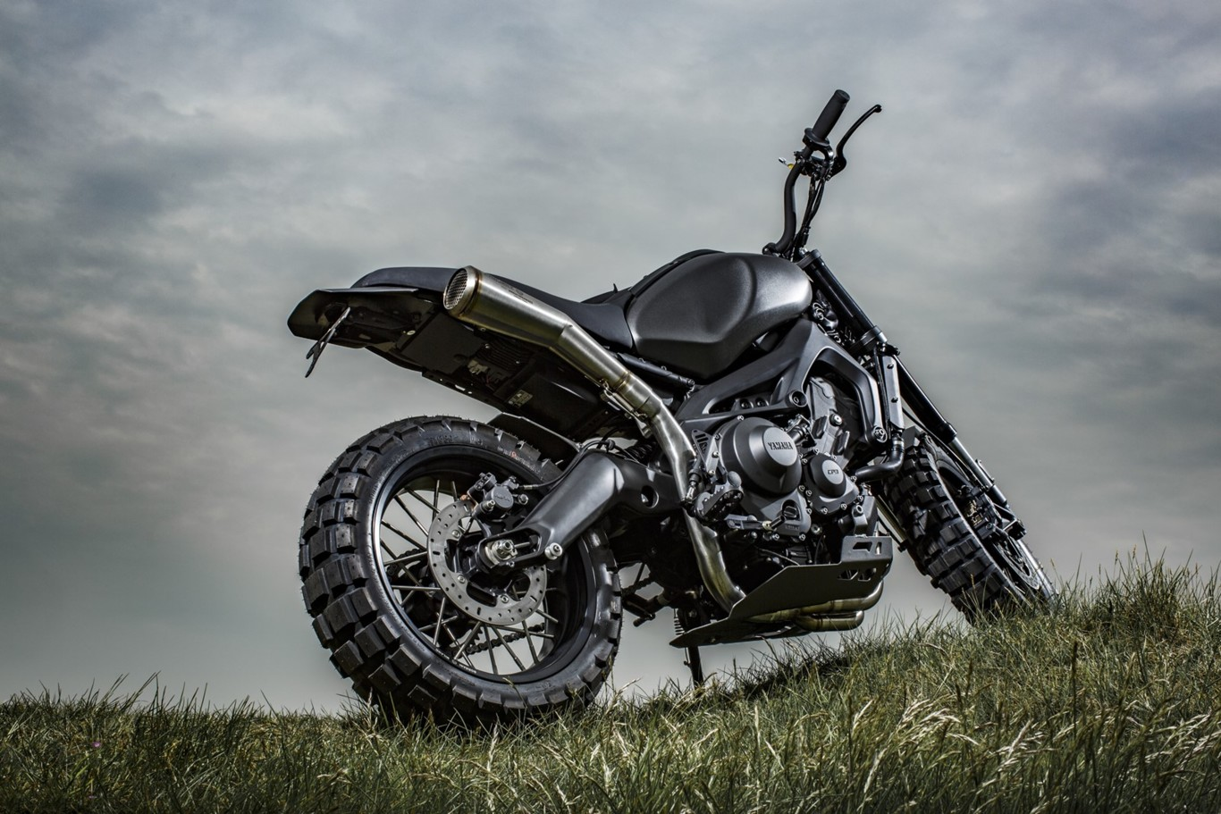 "Yamaha XSR900 Yard Built ""Monkeebeast"" de Wrenchmonkees"