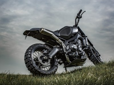 "Yamaha XSR900 Yard Built ""Monkeebeast"" de Wrenchmonkees"