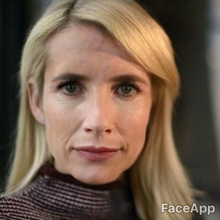 Faceapp Emma Roberts