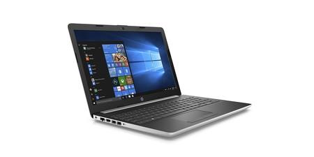 Ahorro también para la gama media, con el HP 15-da1015ns, hoy en Amazon por 629,99 euros