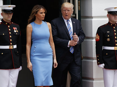 Melania e Ivanka Trump se baten en duelo en sus jornadas laborales vistiendo de azul, ¿quién lo lleva mejor?