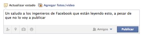 Facebook también sabe lo que quieres escribir y al final no publicas