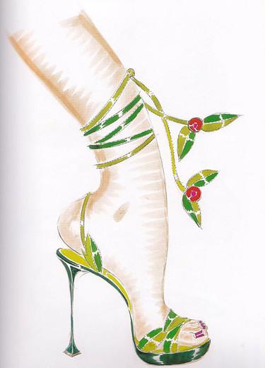 Exposición de Manolo Blahnik en París: cuando un zapato es historia