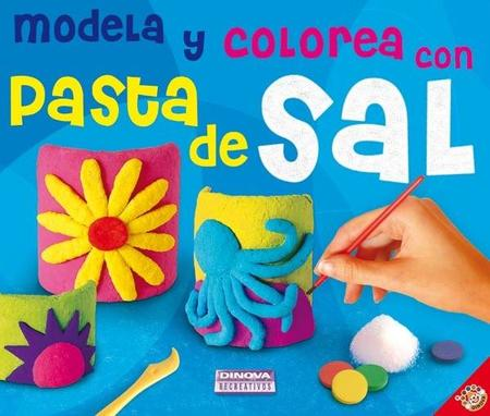 Modela y colorea pasta de sal