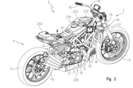 Indian Ftr1200 2019 Patente 1