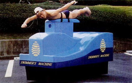 1990 Swimmers Machine
