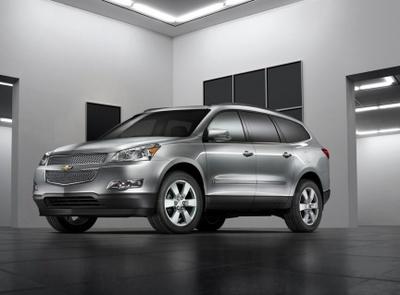 Chevrolet Traverse, debut en el salón de Chicago