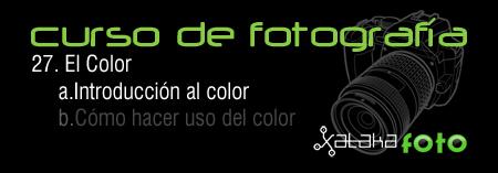 Curso de fotografía 27. El Color. Introducción al color