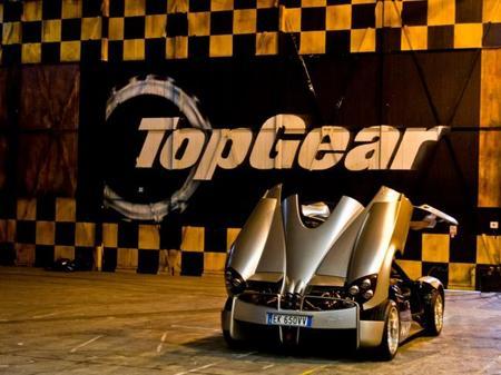 El Pagani Huayra bate el récord del circuito Top Gear