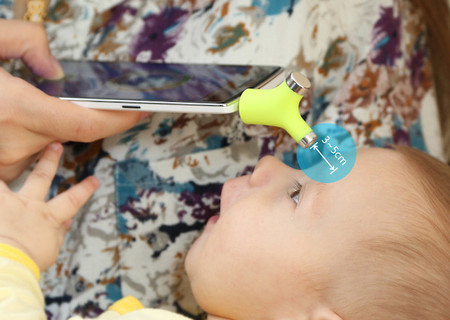 Wishbone, un termómetro portátil, pequeño, e inteligente