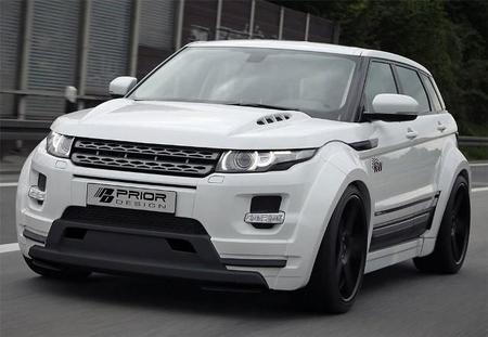 Range Rover Evoque Widebody By Prior Design