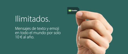 ChatSim rectifica: adiós al límite de megas para mensajes de texto y emoticonos