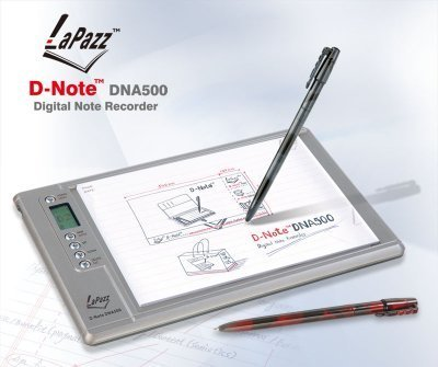 D-Note, cuaderno de notas digital