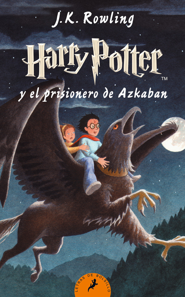 Harry Potter 3 El Prisionero De Azkaban Bolsillo 300 Rgb