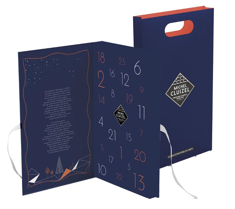 Calendario de Adviento lunar Michel Cluizel