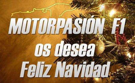 Motorpasión F1 os desea una Feliz Navidad