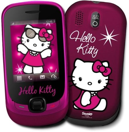 Alcatel One Touch 602 Hello Kitty, edición especial para los más fans con Yoigo