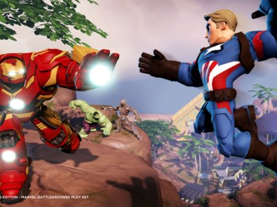 La Civil War de Marvel estallará en el nuevo Playset de Disney Infinity 3.0