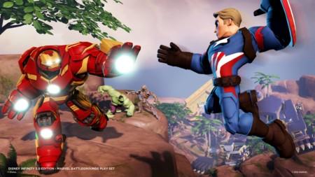 La Civil War de Marvel estallará en el nuevo Playset de Disney Infinity 3.0