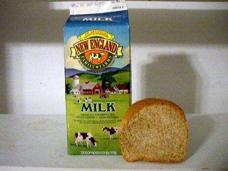 Leche y pan