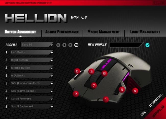 Leetgion Hellion Configurator