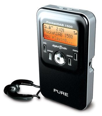 PocketDAB, radio digital de Pure ahora con FM