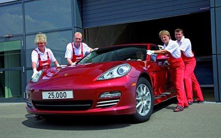 Porsche ya ha fabricado 25.000 Panamera