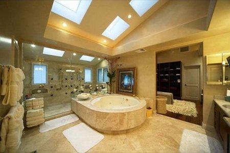Un baño de Tiger Woods.