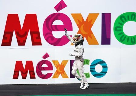 Hamilton Mexico F1 2018