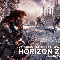 Horizon Zero Dawn encabeza la lista de nominados de los D.I.C.E. Awards 2018