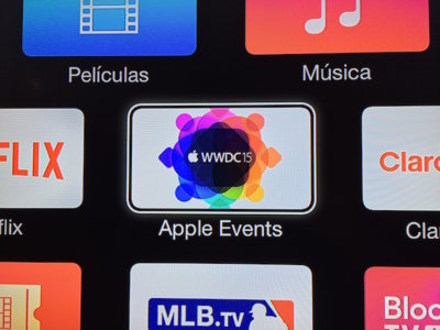 El Apple TV ya está listo para el streaming de la keynote de apertura de la WWDC 2015