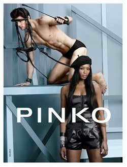 Naomi Campbell, nuevo rostro de Pinko