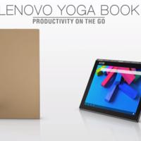 El nuevo Yoga Book de Lenovo parece una tablet que viene del futuro