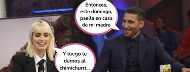 """La madre de Miguel Ángel Silvestre, encantada con la tensión sexual de su hijo y Lali Espósito en 'El Hormiguero': """"Cariño, ahí hay amor"""""""