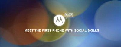 Motorola no piensa en MOTOBLUR para el futuro, Android 3.0 se acerca