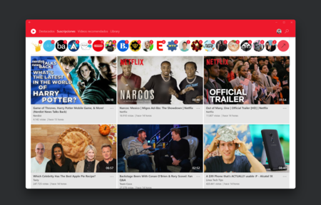 Awesome Tube, una excelente aplicación para disfrutar de YouTube en Windows 10